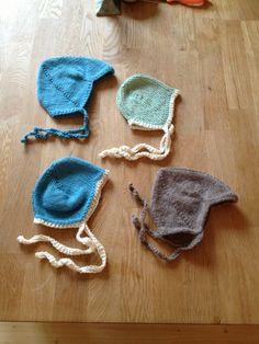 Babyluer, 2013-kolleksjonen. Bomull/ull og alpakka Crochet Earrings, Homemade, Stitch, Jewelry, Fashion, Jewellery Making, Moda, Full Stop, Home Made