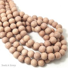 50X Natural Wooden Beads 10mm Round Brown Burly Wood Stripe Pattern Bead