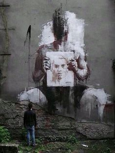 Borondo - Street Artist you become your art or your art becomes you