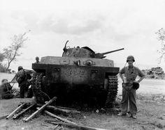 Type 2 Ka Mi amphibious tank from 1st Yokosuka Special Naval Landing Forces on Saipan 1944