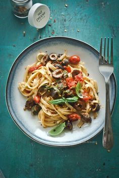 Pasta with Olive 3