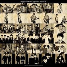 Happy Birthday John Lennon by fionafu0402.deviantart.com on @deviantART