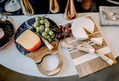 Set a Stunning Thanksgiving Tablescape | LC Living Thanksgiving Tablescapes, Dinnerware, Cheese, Food, Dinner Ware, Tableware, Dining Set, Meals, Flatware