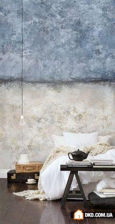 Бетонная стена в интерьере: 4 идеи, 20 лучших примеров