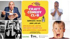 Craft Burger, Live Comedy, Burger Bar, Crafts, Manualidades, Handmade Crafts, Craft, Arts And Crafts, Artesanato