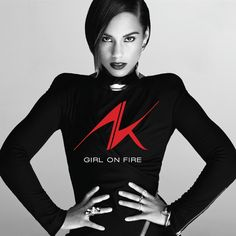 Alicia Keys - Girl On Fire on 2LP