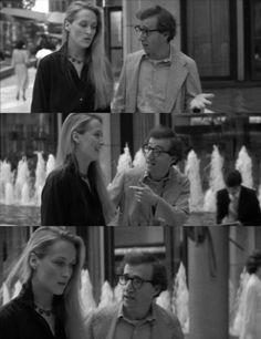 """With Woody Allen in """"Manhattan"""""""