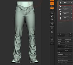 A Quick and Dirty Marvelous Designer to Zbrush Workflow by Yuri Alexander