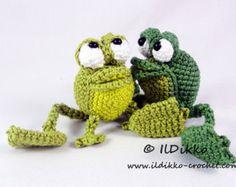 Amigurumi Crochet Pattern Set Poultry Paul Paula por IlDikko