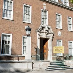 Exterior of the Foundling Museum, a unique place to visit in London