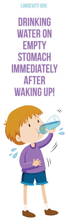 Drinking water on empty stomach immediately after waking up! Here's why!