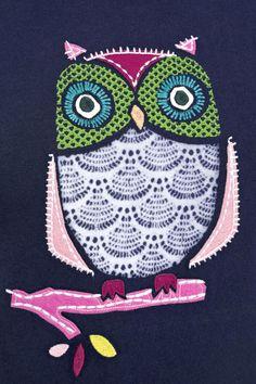 Buy Owl Appliqué Pyjamas from the Next UK online shop