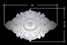 Plaster Ceiling Medallion