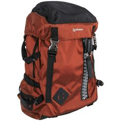 "Manhattan 15.6"" Zippack Heavy-duty Top-loading Backpack (orange And Black)"