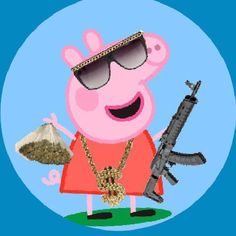 Peppa Pig is often a Indian toddler super-hero tv string guided plus Cartoon Wallpaper, Peppa Pig Wallpaper, Wallpaper Iphone Neon, Funny Phone Wallpaper, Funny Wallpapers, Aesthetic Iphone Wallpaper, Cartoon Memes, Cartoon Shows, Funny Memes