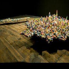 Something we liked from Instagram! Maqueta simulación ciudad realizada con fichas de poker. Que les parece esta maqueta? #colorful #art #arte #photo #photos #foto #sketch #creative #miniature #architecture #building #city #miniatura #design #designer #abstract #lines #interiordesign #3dprinter #artwork #color #archilovers #focus #miniaturas #architectureporn #scalemodel #diseño #arquitectura #maqueta #colombia by miniartnet check us out: http://bit.ly/1KyLetq