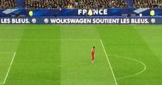 Volkswagen fait volontairement une faute à son nom pendant France-Brésil