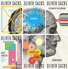 Title: Oliver Sacks paperback repackage  Designer: Cardon Webb  Art Director: John Gall  Design Firm: Vintage/Anchor