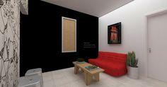 Projeto reforma Coletivo Imaginário - Vivero Imagens 3d SketchUp +  Vray