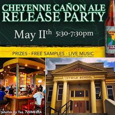 Tonight is the release of Cheyenne Cañon Ale at Bristol Brewing Company. They will donate ALL profits from pints and 22 oz. bombers to Friends of Cheyenne Canon. This is a fun way to support a local #ColoradoSprings #nonprofit that is dedicated to preserving protecting and enhancing the #natural #scenic and #historic resources of North Cheyenne Cañon Park. #720media is honored to assist the Friends of Cheyenne Canon with #website maintenance.