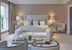 It's no wonder that so many of us look to achieve the 'boutique hotel style bedroom' when renovating our homes. Aspiring to create a private sanctuary oozing with elegance and sophistication. Boutique Hotel Bedroom, Hotel Bedroom Design, Modern Bedroom Decor, Master Bedroom Design, Contemporary Bedroom, Bedroom Designs, Bedroom Furniture, Hotel Bedroom Decor, Master Suite
