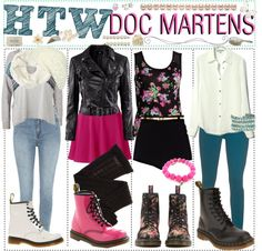 """""""How to wear Doc Martens!"""" by every-girl-has-a-tip ❤ liked on Polyvore"""
