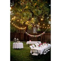 Backyard Birthday Fun--Pink Hydrangeas Polka Dot Napkins ❤ liked on Polyvore featuring home and kitchen & dining