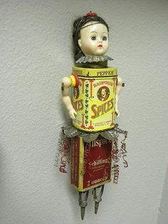 """doll spice tin 