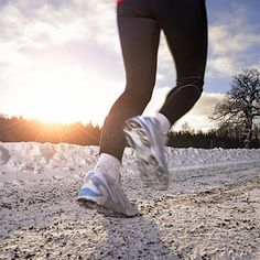 Run Happy All Year Long: shorten your stride when you #run in the winter to prevent a spill | health.com