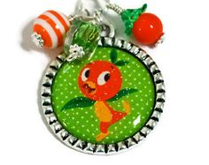 ORANGE BIRD NECKLACE Disney World