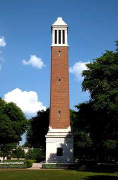 Denny Chimes, University of Alabama, Tuscaloosa Alabama