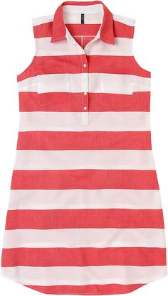 Vestido a rayas con cintur n de topos kling en el armario de la tele http www - El armario d la tele com ...
