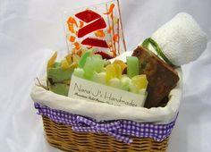 Bath Gift SetSoap Gift SetSoap Gift BasketFused by NanaJsHandmades, $35.00
