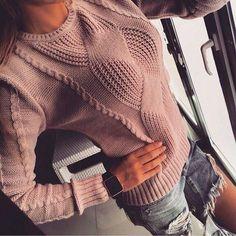 Интересный свитер
