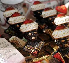 Morcic – the Orient in Rijeka, traditional jewelry of Rijeka often features the image of a black head wearing a white turban, modeled after the appearance of Moorish  warriors. It was thought to bring good luck to its wearer.
