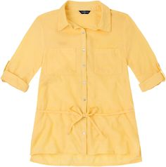 Weekend. Modelo: G815A0303575CCG. Blusa manga 3/4 con elevador y bolsas superiores.