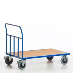 GTARDO.DE:  Rohr-Stirnwandwagen, Tragkraft 600 kg, Ladefläche 1000x700 mm, Maße 1120x700 mm, Rad-Ø 200 mm 192,00 €