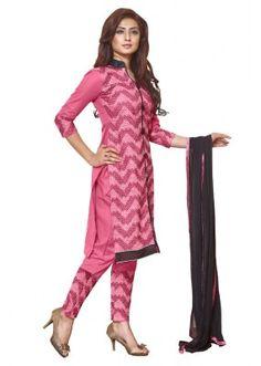 Office Wear Pink Cotton Lawn Salwar Suit - AALIYA4005B