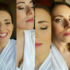 bride make-up. wedding make-up