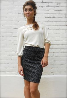 Hey, I found this really awesome Etsy listing at https://www.etsy.com/listing/161884515/black-pencil-skirt-grey-leopard-print