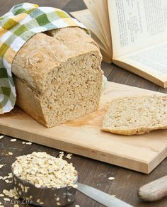 Pan de harina de avena
