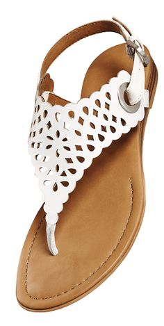 Walk on the sunny side of life in the Gaby sandals by Franco Sarto. #cutouts #springshoes #sandals #francosarto