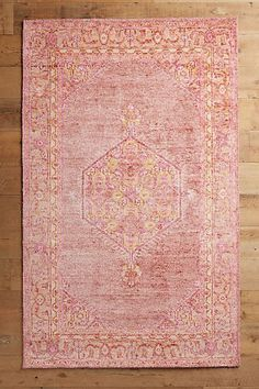 Overdyed to a rich jewel tone, this hand-knotted piece puts a twist on the classic Oriental rug motif by adding geometric details to the familiar florid lines. Home Decor Inspiration, Design Inspiration, Decor Ideas, Decorating Ideas, Diy Ideas, Interior Decorating, Hanging Furniture, Painted Furniture, Natural Fiber Rugs