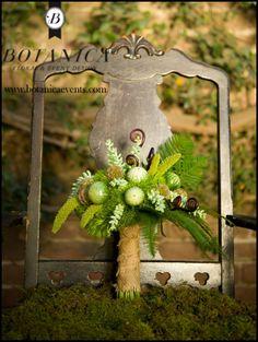 forest bridal/bridesmaids bouquet