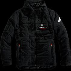 Details about 100 Percent Mens Textile Casual Motorcycle Honda Geico Riding  Zipper Jacket ba3587b44777