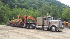 Nortrax Deere dealer in Springfield, Vermont...old Fiat Allis grader headed to exporter 7-7-2016. Iron Mountain, Heavy Equipment, Fiat, Vermont, Trucks, Truck