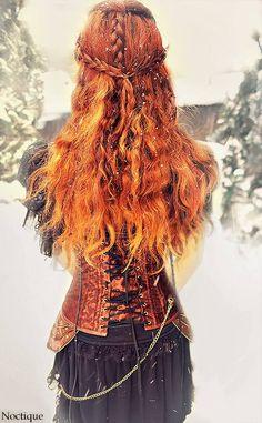 viking hair <3                                                                                                                                                                                 More