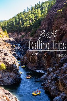Family-friendly rafting trips that are also great for first-time rafters of any age.