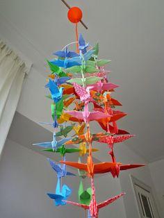 Shiuan-Wen Chu's Origami Hanging Light