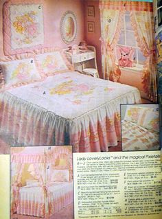 I can hear my childhood self begging my parents for this if I'd known about it back then. Girls Bedroom Sets, Bedroom Ideas, Lady Lovely Locks, Kawaii Bedroom, Rainbow Brite, Barbie Dream House, Old Shows, Best Kids Toys, Bedroom Vintage